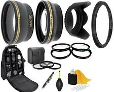 9PC of Accessory Kit For Samsung NX 20-50mm Lens NX2000 NX1000 NX500 NX300 NX30