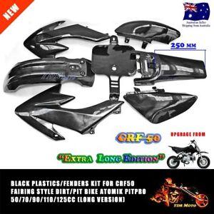 Long-Version-Plastics-Guard-Fairing-Fender-Kit-CRF50-PIT-PRO-Trail-Dirt-Bike