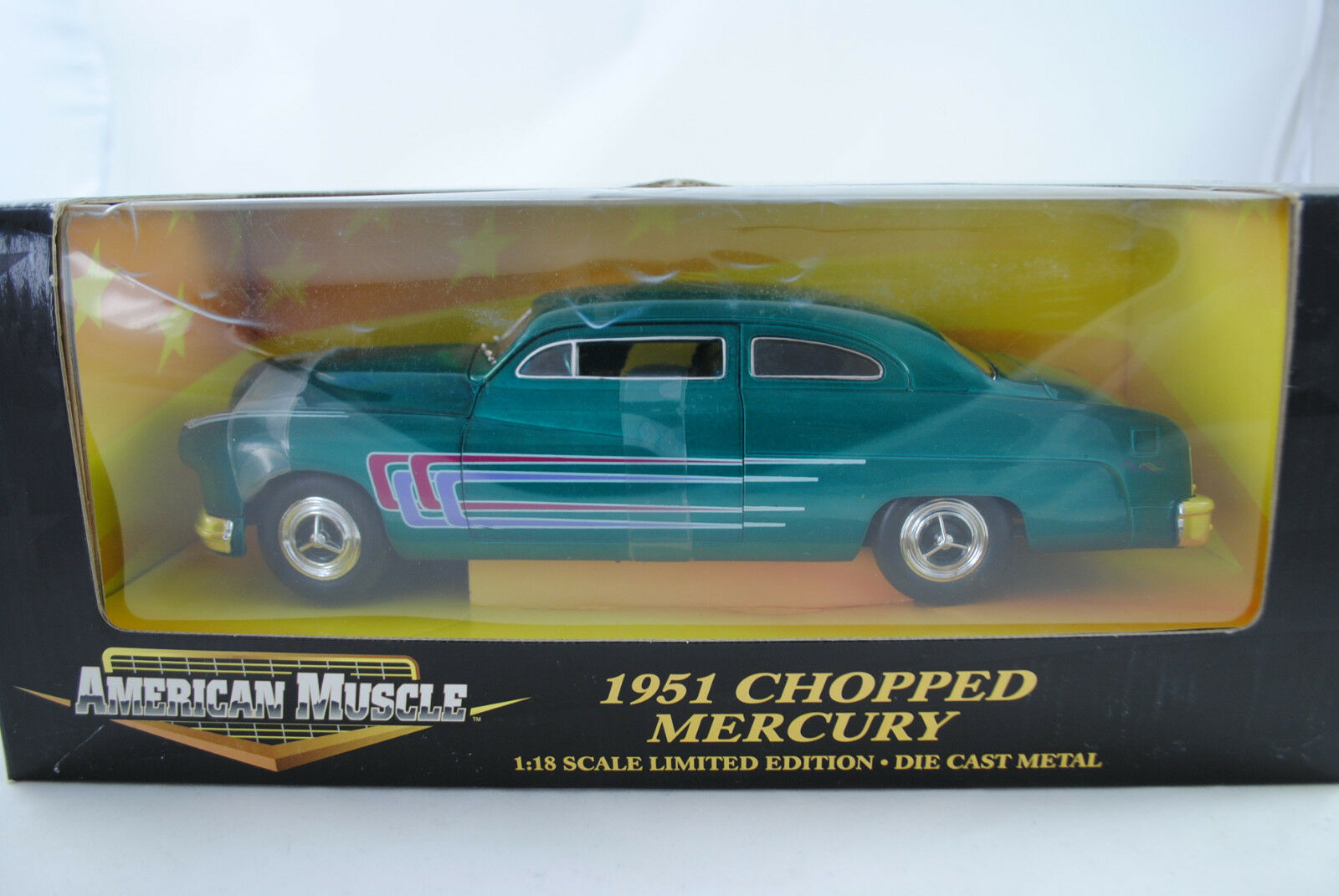 1 18 Ertl 1951 1951 1951 Chopped Mercury green Limited Edition NEU OVP d9f346