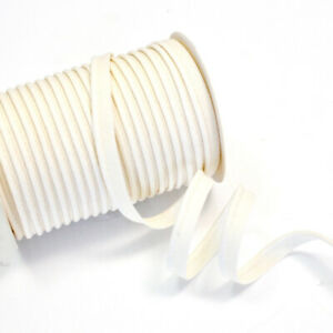 Medium Bias Piping Plain Insertion Flanged Cotton Trim