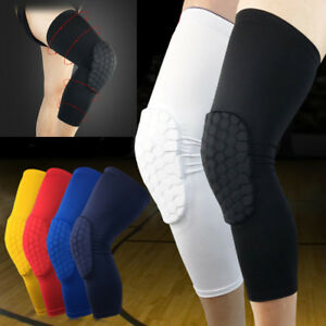 Knee-Pads-Sport-Brace-Protectors-Breathable-Anti-collision-Basketball-Leg-Guards