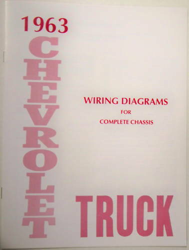 1963 Chevy Truck Wiring Diagram Manual