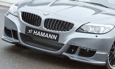BMW E89 Z4 2009+ Hamann Brand Genuine Front Bumper With LED DRL's OEM New