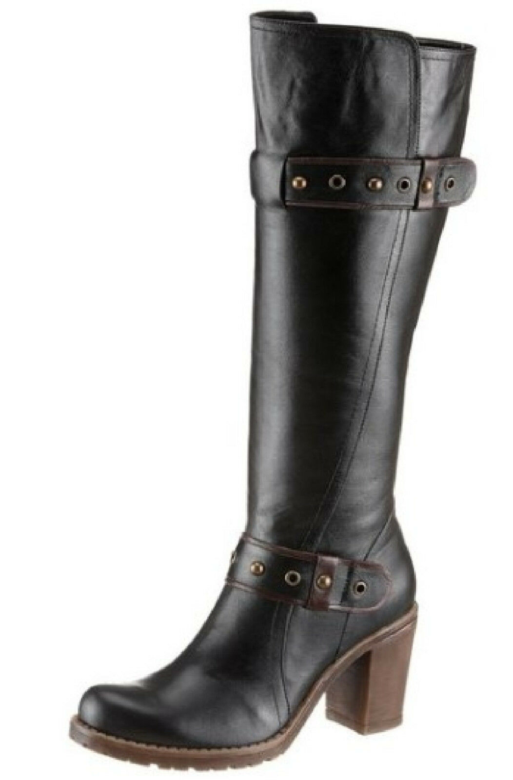 Hush Puppies botas 40 Echt Leder negro señora botas botas botas zapato párrafo moderno nueva  n ° 1 en línea