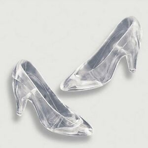 Plastic Cinderella Slipper Cake Topper