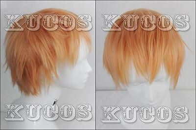 693 Dramatical Murder DMMd Noiz Short Blond Layered Cosplay wig