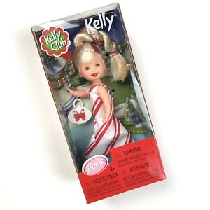 Kelly-Club-Peppermint-Doll-Mattel-Vintage-2001-Barbie-s-Little-Sister-New-In-Box