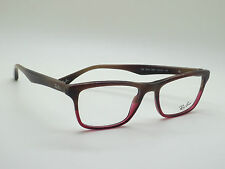 f9f3faf8e2 item 1 NEW Authentic Ray Ban RB 5279 5541 Brown Horn Burgundy 53mm RX  Eyeglasses -NEW Authentic Ray Ban RB 5279 5541 Brown Horn Burgundy 53mm RX  Eyeglasses
