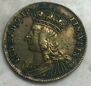 French France Jeton Token Louis XV - Vis Ahimicum Corpore Crescit