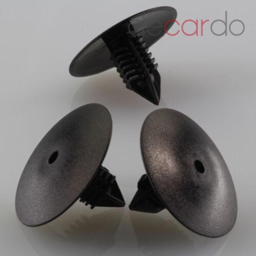 10x para Renault Megane paso de rueda cubierta clip 7703077435