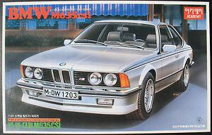 ACADEMY-CA088-FA-13-BMW-M-635-CSi-mit-Motor-von-1990-Modellbausatz-Kit