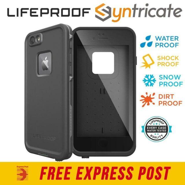 LifeProof Fre WaterProof DustProof case for iPhone 6S/6 - Black