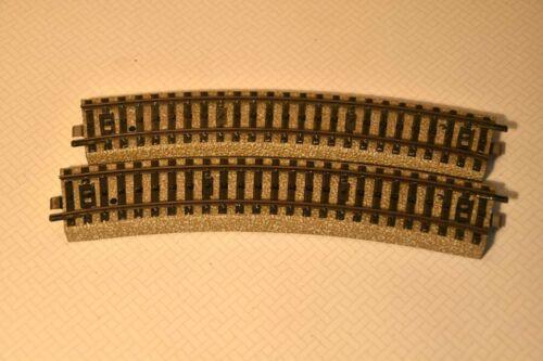 Metallgleis R 1 Märklin H0 5100    6 St.Gebogene Halbkreis
