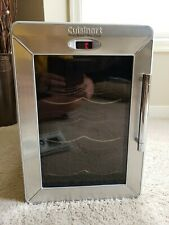 Cuisinart 6 Bottle Private Wine Cellar - Stainless Finish CWC-600-very clean!
