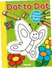 Dot to Dot Butterfly and More Counting & Colouring Fun 9781782701224 Award