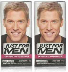 3543cc37d Details about Just For Men Shampoo-In-Color Sandy Blond H-10 (2 Pack)