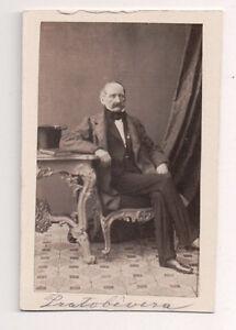 Vintage-CDV-Austrian-Noble-Baron-Protobevera-Carl-Von-Jagemann-Photo-Vienna-F35