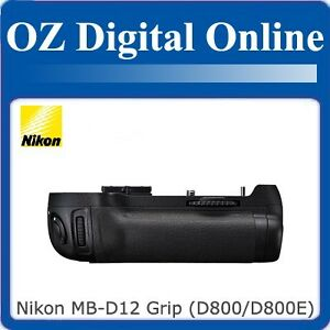 New-Nikon-Genuine-MB-D12-Battery-Hand-Grip-for-D800-D800E-1-Yr-Au-Wty