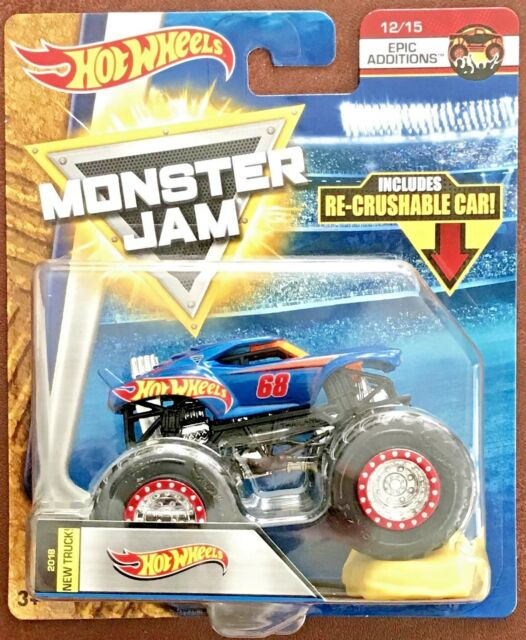 Diecast & Vehicles Toys & Games Hotwheels & Other Monster Jam Truck Toy Cars