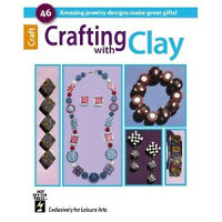 Crafting With Clay-beaded Jewelry-polymer/fimo/sculpey-canes/millefiore Book