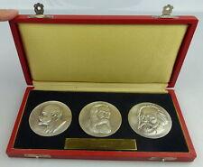 3 Medaillen: 40jährige Mitgliedschaft in der Partei der Arbeiterklasse Orden1698