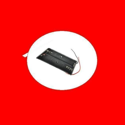 Cable Wire Plastic Battery Storage Dual Case Box Holder For 2 x 18650 3.7V