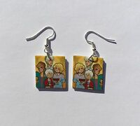 Golden Girls Earrings Cartoon Charm