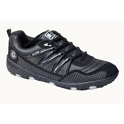 NCS BRAND MENS BLACK CASUAL FLAT SPORTS SHOES 1065