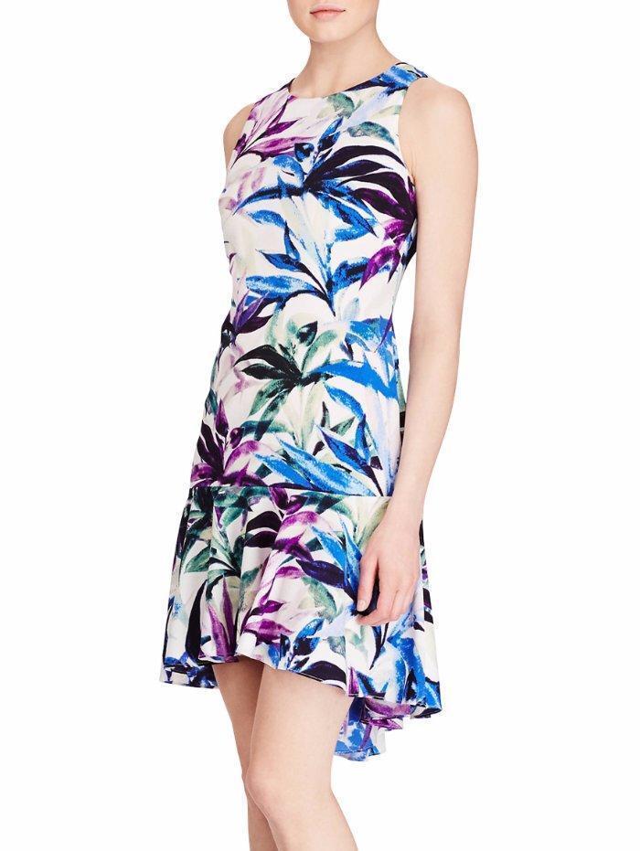 AMERICAN LIVING® 16 Floral Print Crepe Dress NWT  79