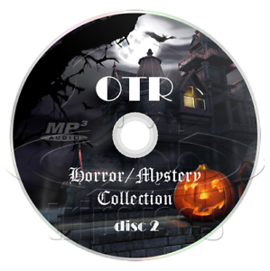 MASSIVE-Horror-Mystery-Collection-OTR-Old-Time-Radio-2-x-mp3-DVDs