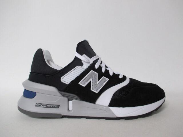 new arrival 79032 e7e80 New Balance 997 Black White Grey Silver Blue Fresh Foam Sz 10 MS997HGA