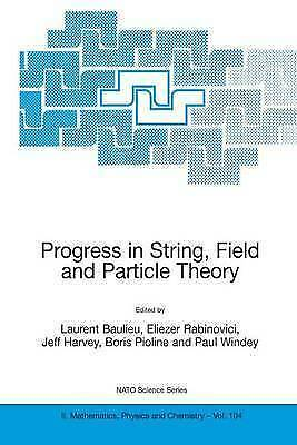 1 of 1 - NEW Progress in String, Field and Particle Theory (Nato Science Series II:)