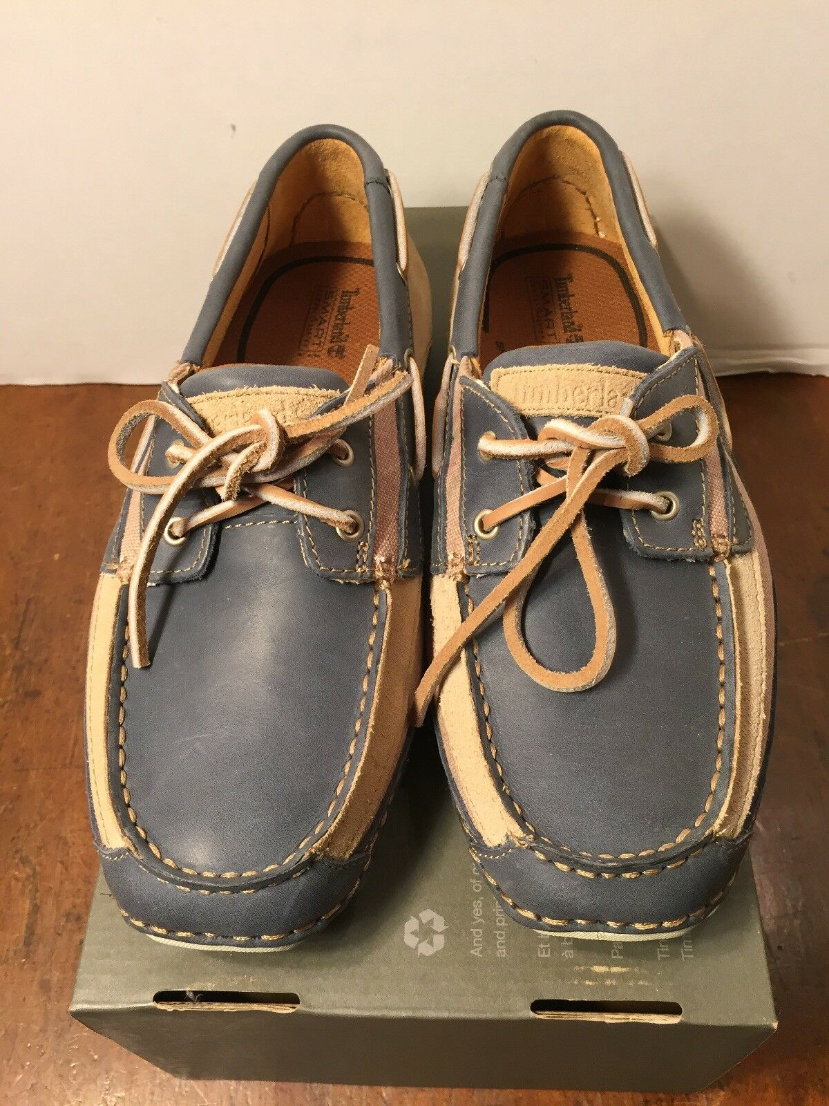 NEW Timberland Annapolis Boat Shoes/Moccasins Men's Sz 8 M 74090 Suede Leather