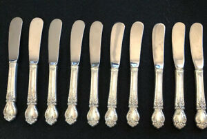 Brocade by International Sterling Silver Butter Spreader Paddle Hollow Handle 6