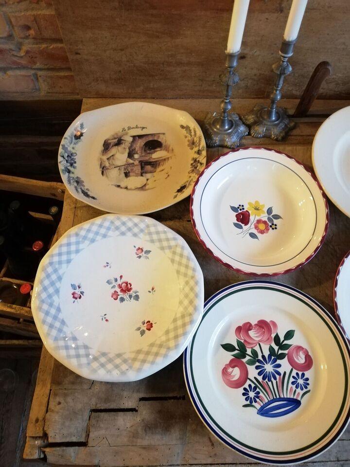 Porcelæn, Fade skål, Fransk france