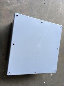 "CENTAUR JB12126 12/""x12/""x6/"" PVC JUNCTION BOX W//GASKET /& MOUNTING BRACKETS"