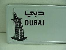 Dubai custom european car license plate tag mercedes bmw volvo vw