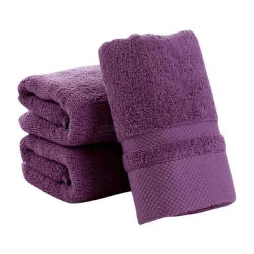 Arrival Soft 100/% Cotton Absorbent Terry Luxury Hand Bath Beach Face Sheet Towel
