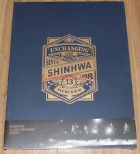 SHINHWA SPECIAL STORYBOOK UNCHANGING STORY K-POP DVD + PHOTOBOOK + PAPER STAND