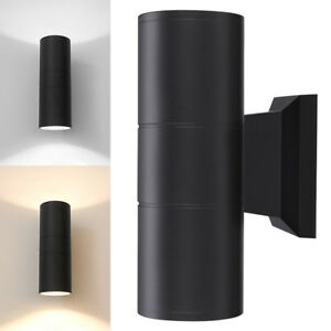 1-4x-Up-Down-Dual-Head-Wall-Light-Sconce-LED-Lighting-Fixture-Outdoor-Waterproof