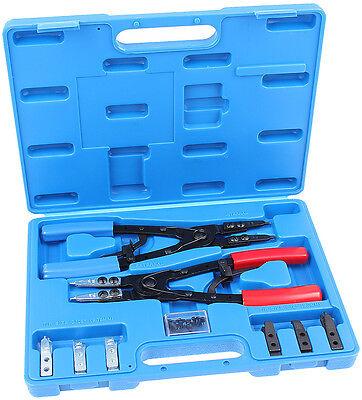 Seegerring Pliers Set 10 Pcs Snap Ring Pliers Snap Ring