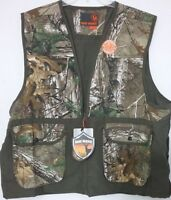 Small (s) Game Winner Realtree Small Game Hunting Vest With Game Bag Quail Dove