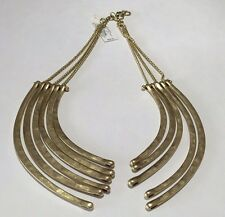Lucky Brand Necklace $89 Gold Tone Broken Store Display With Tags JLRY2895