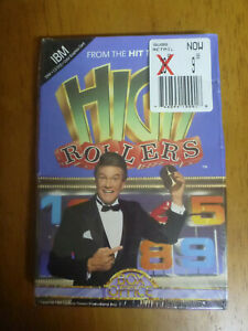 UNOPENED-1987-software-High-Rollers-from-hit-TV-game-show-DOS-2-0-5-25-floppy