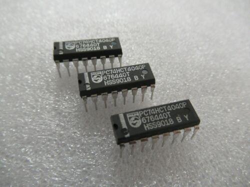 6 x PC74HCT4040P ORIGINAL PHILIPS 74HCT4040 6 CHIPS PER SALE UK STOCK