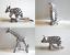 Schleich-82802-82805-Tiere-im-Zebra-Muster-75-Jahre-Jubilaeum-Sonderedition-NEU Indexbild 1
