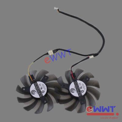 GV-N580UD-15I Replacement 3-Pin Cooling Fan ZVOT780 for Gigabyte GV-N460OC-1GI