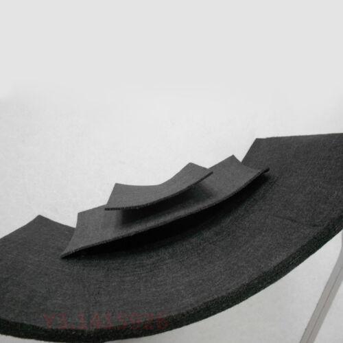 3//5//8//10//14mm Black Pan Based Graphite Carbon Fiber Cloth Fabric Mat Foil Felt