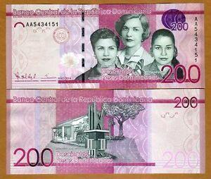 Pick 186Aa UNC DOMINICAN REPUBLIC 500 Pesos Dominicanos 2012
