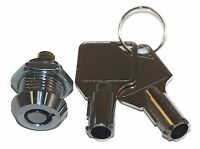 Miniature Tubular Push Locks With Chrome Finish Keyed Alike Cabinet Showcase
